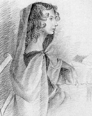 thatishersister_drawing of anne bronte done by her sister charlotte in 1845